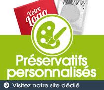 Préservatifs personnalisés
